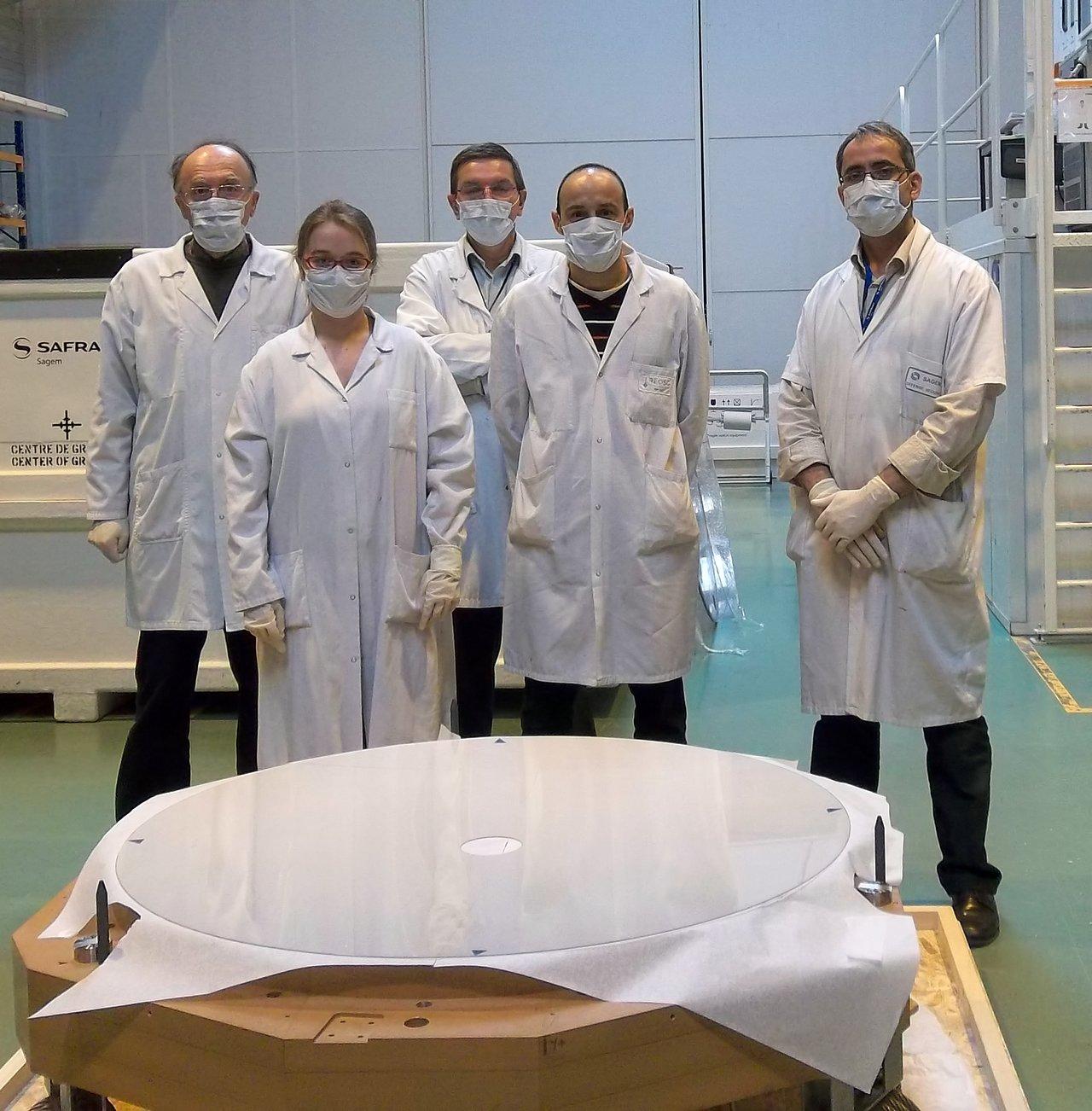 Thin shell mirror for ESO's Very Large Telescope Adaptive Optics Facility