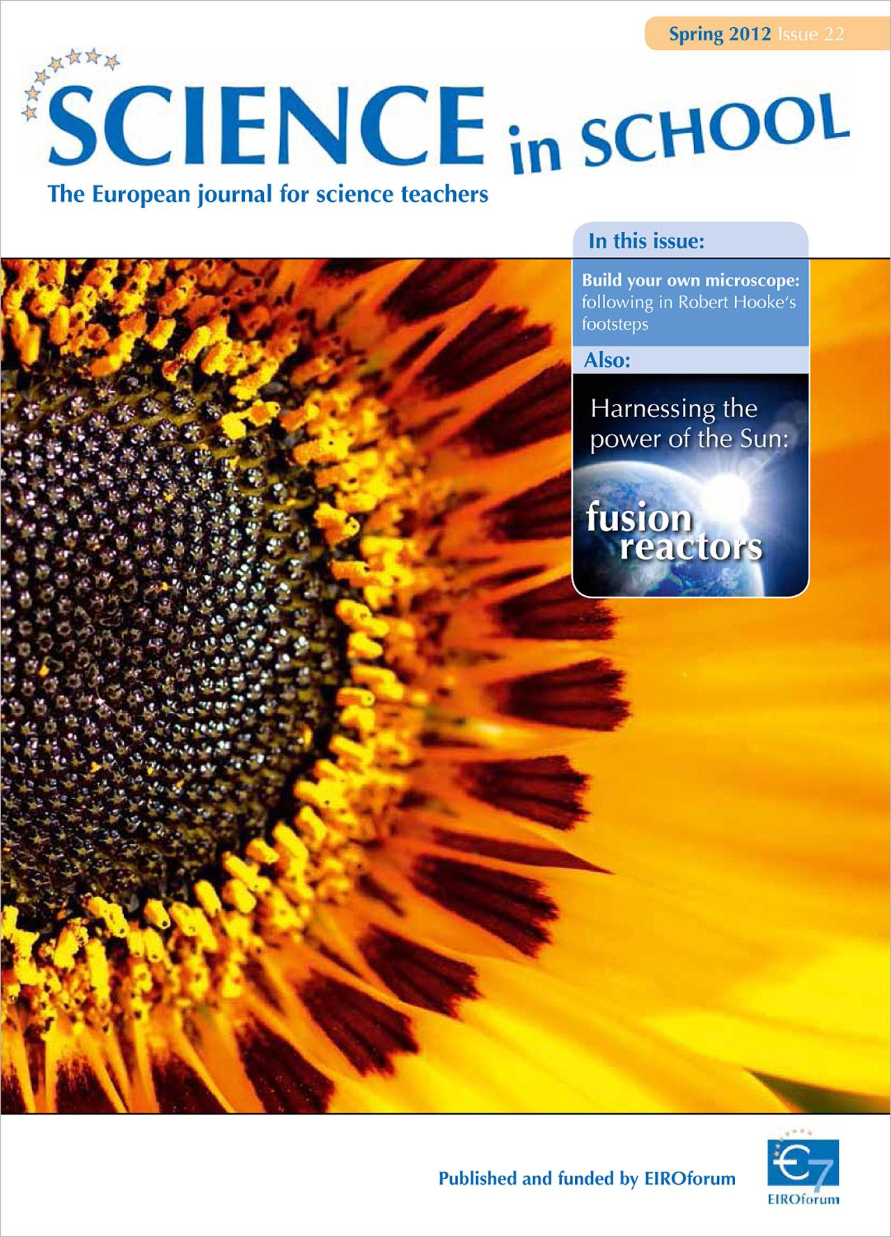 Science in School - Ausgabe 22 (Frühling 2012)
