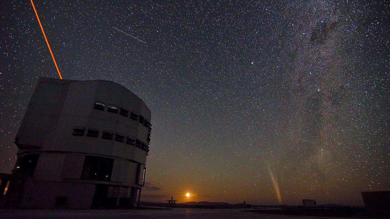 Una noche en el Observatorio Paranal de ESO