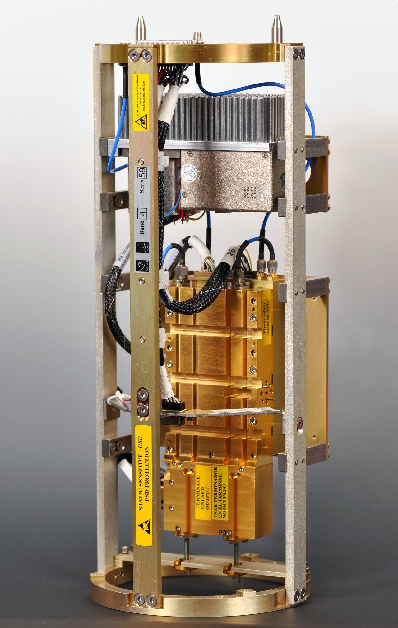 Un receptor WCA (Warm Cartridge Assembly) de ALMA