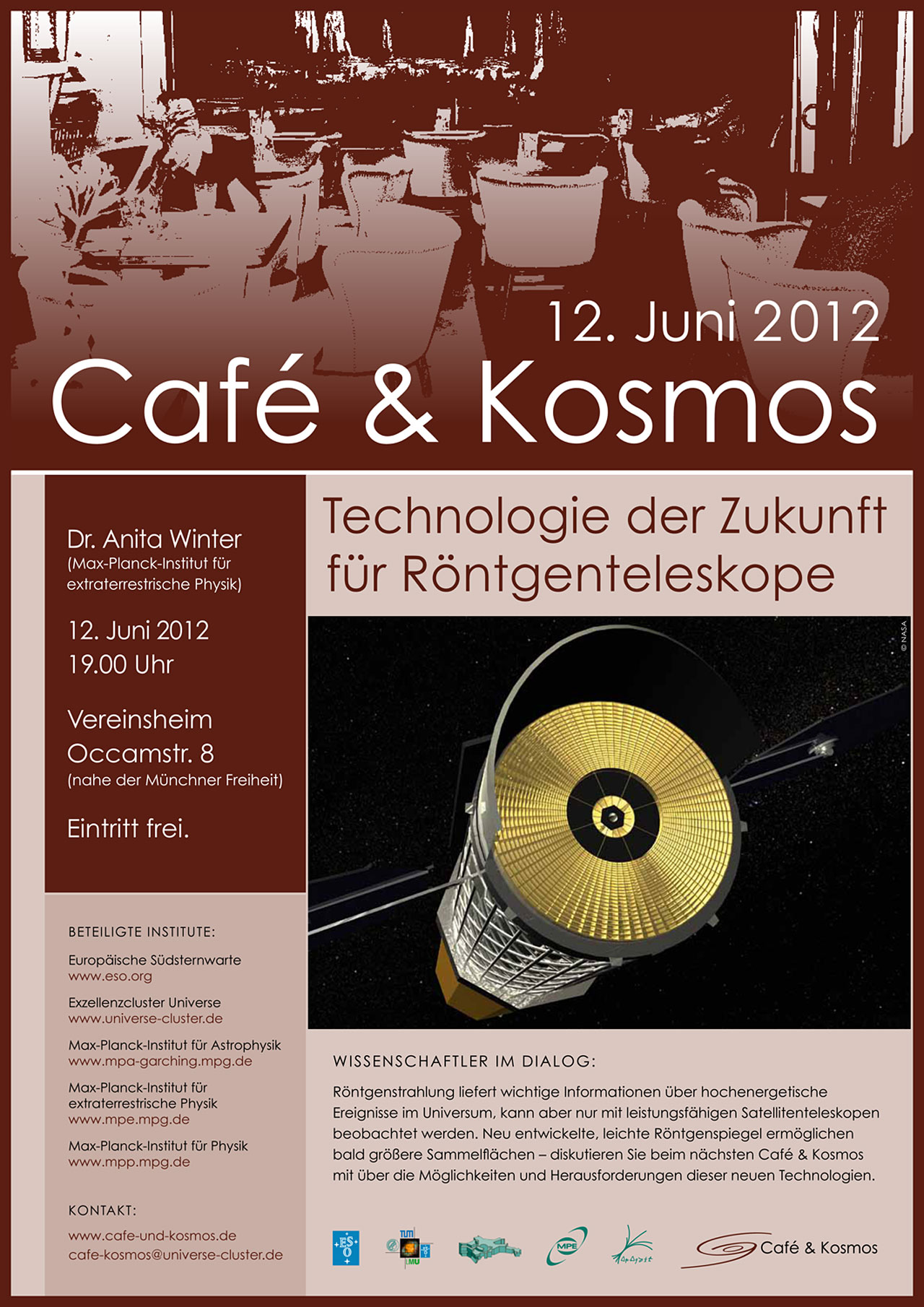 Póster del Café & Kosmos del 12 de junio de 2012