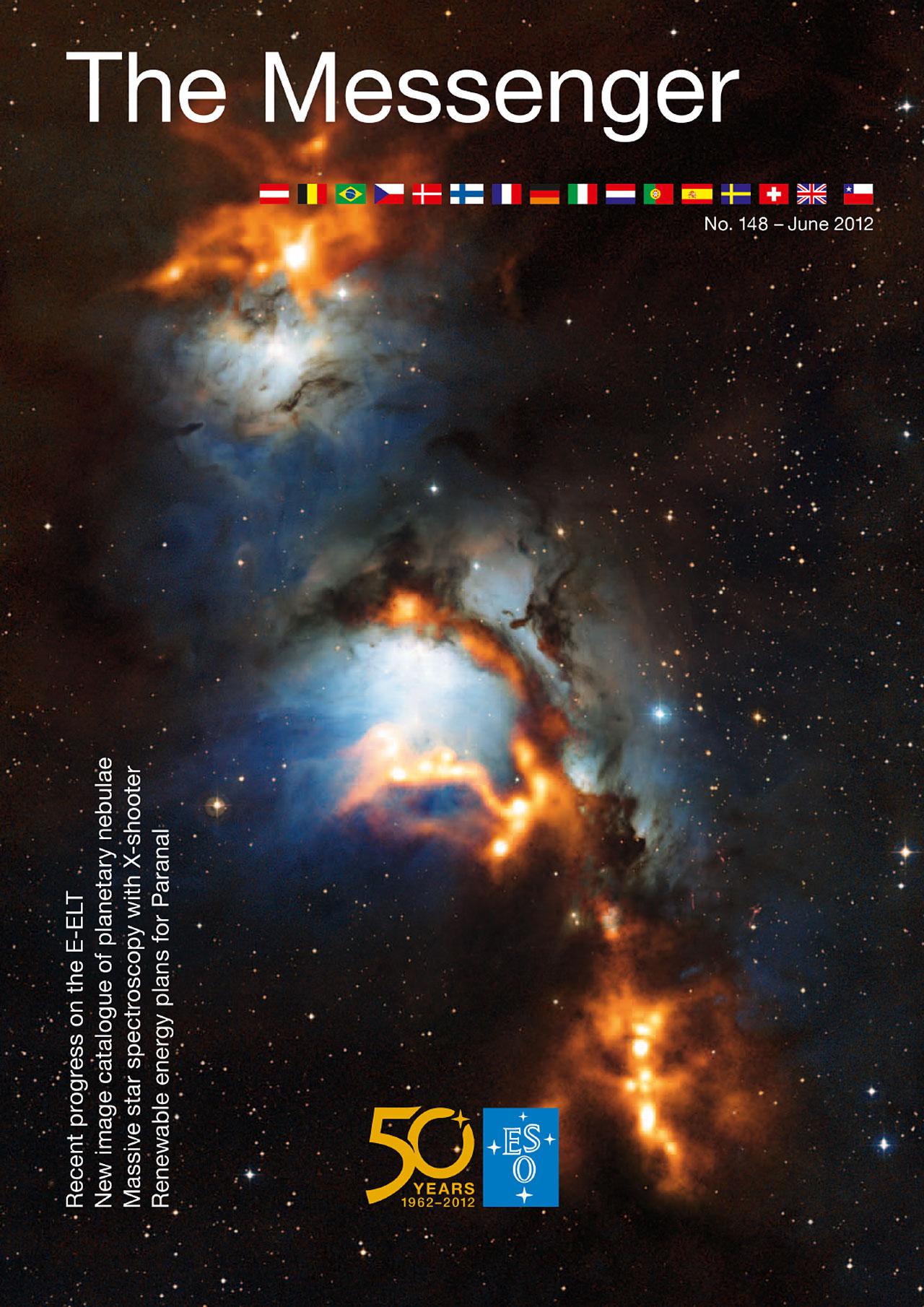 Titelseite von The Messenger Nr. 148