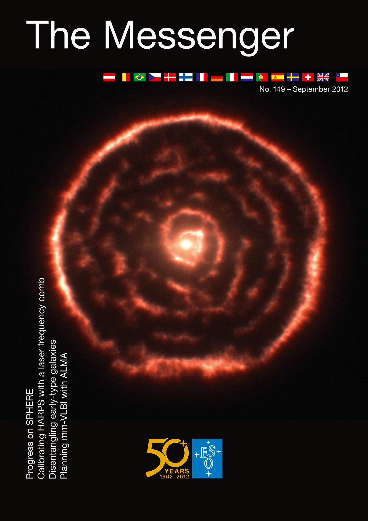 Titelseite von The Messenger Nr. 149