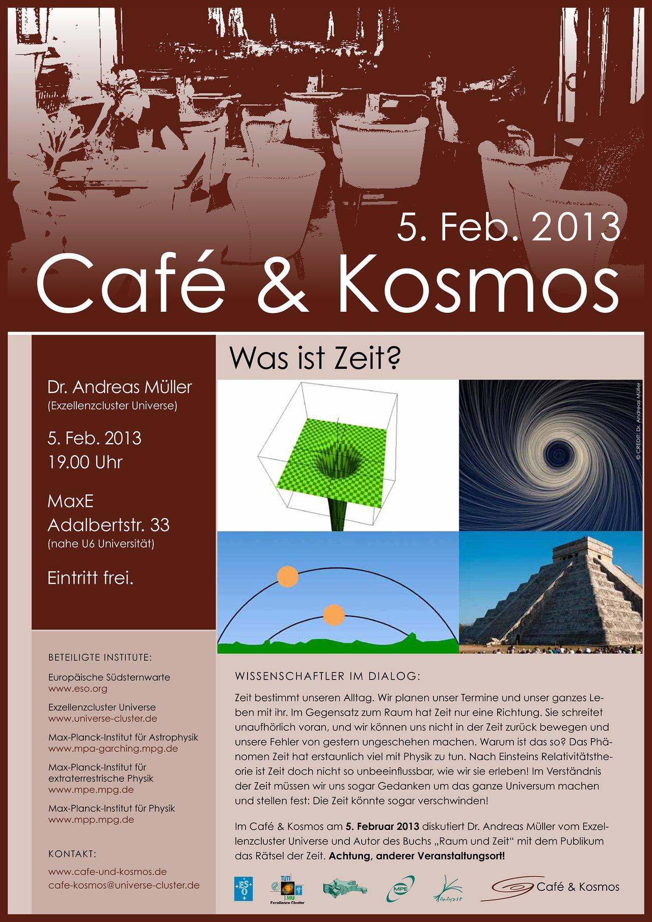 Poster of Café & Kosmos 5 February 2013
