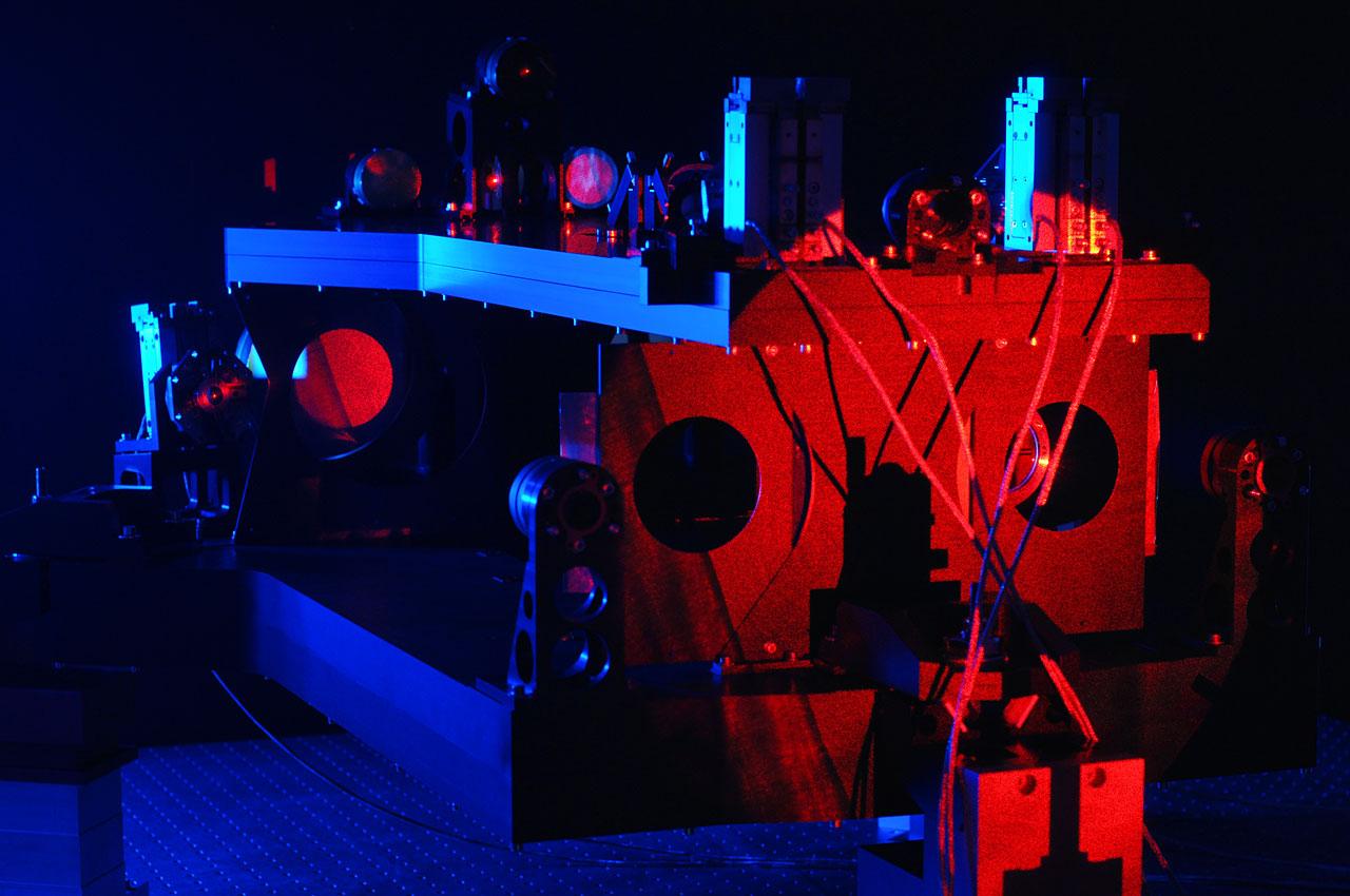 Sternseparator für das VLT-Interferometer bei Tests am TNO