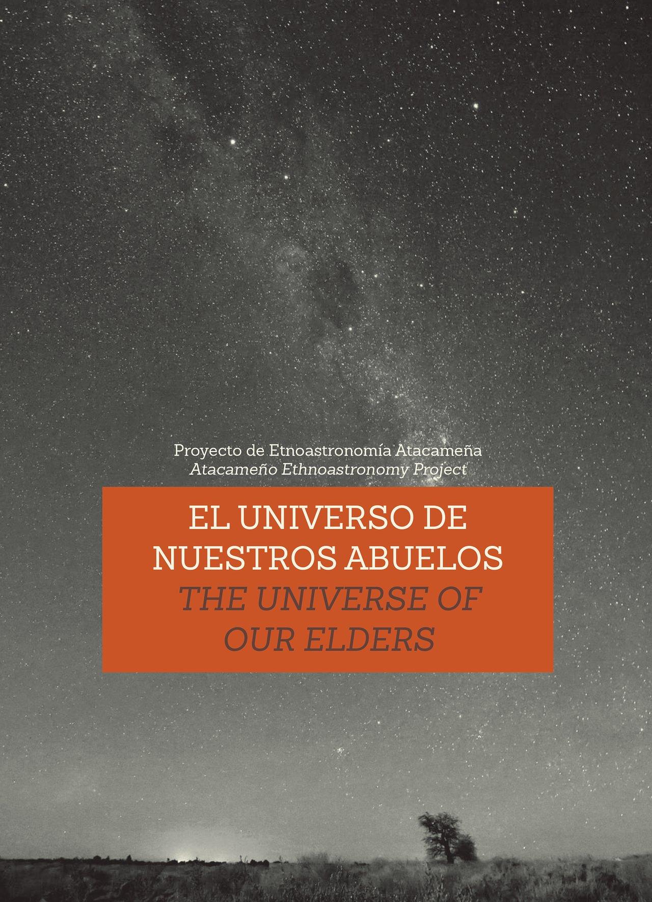 Titelseite der Broschüre über die Vorstellungen der Atacama-Ältesten vom Kosmos