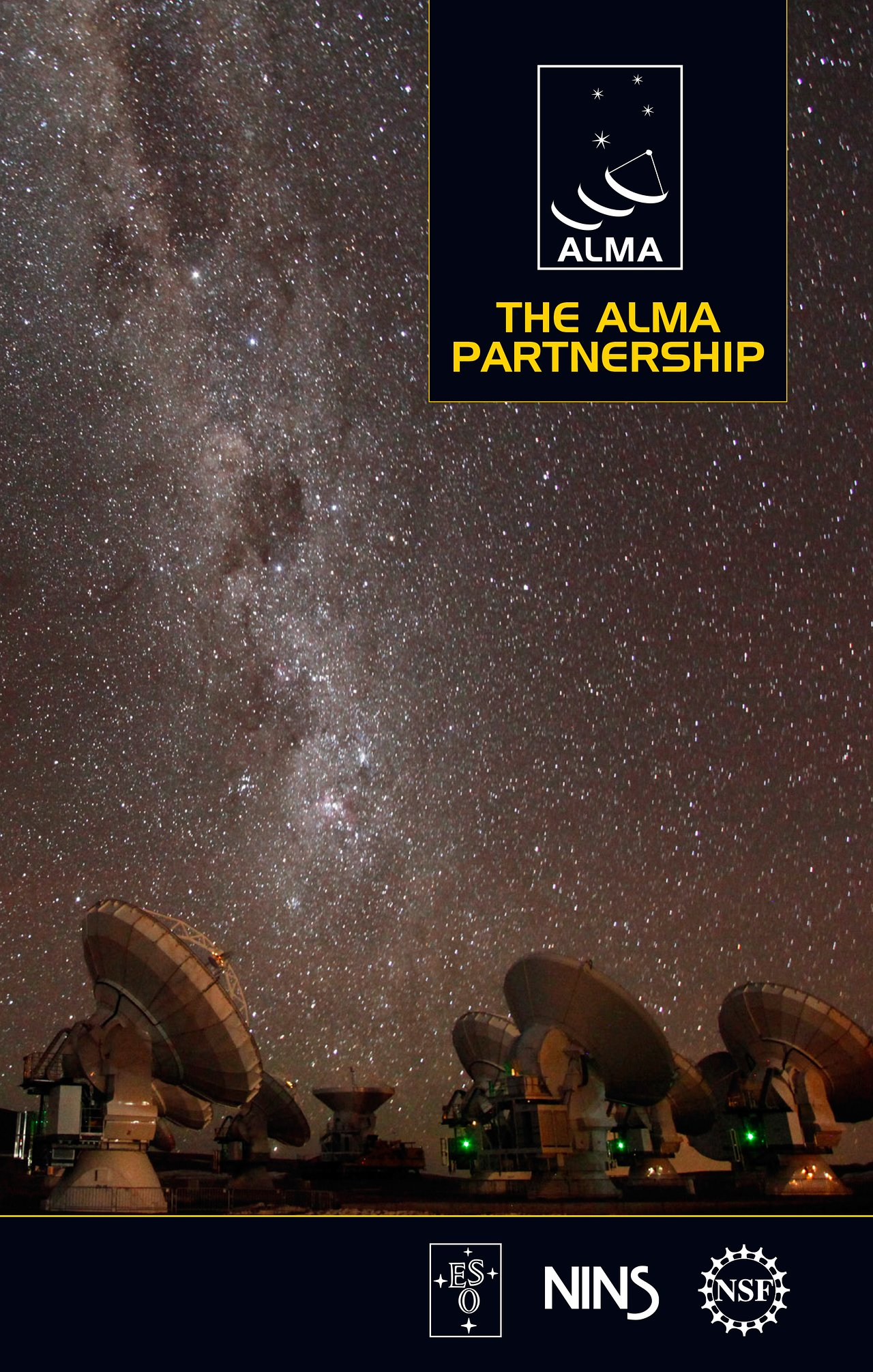 Titelseite der Broschüre zur ALMA-Partnerschaft