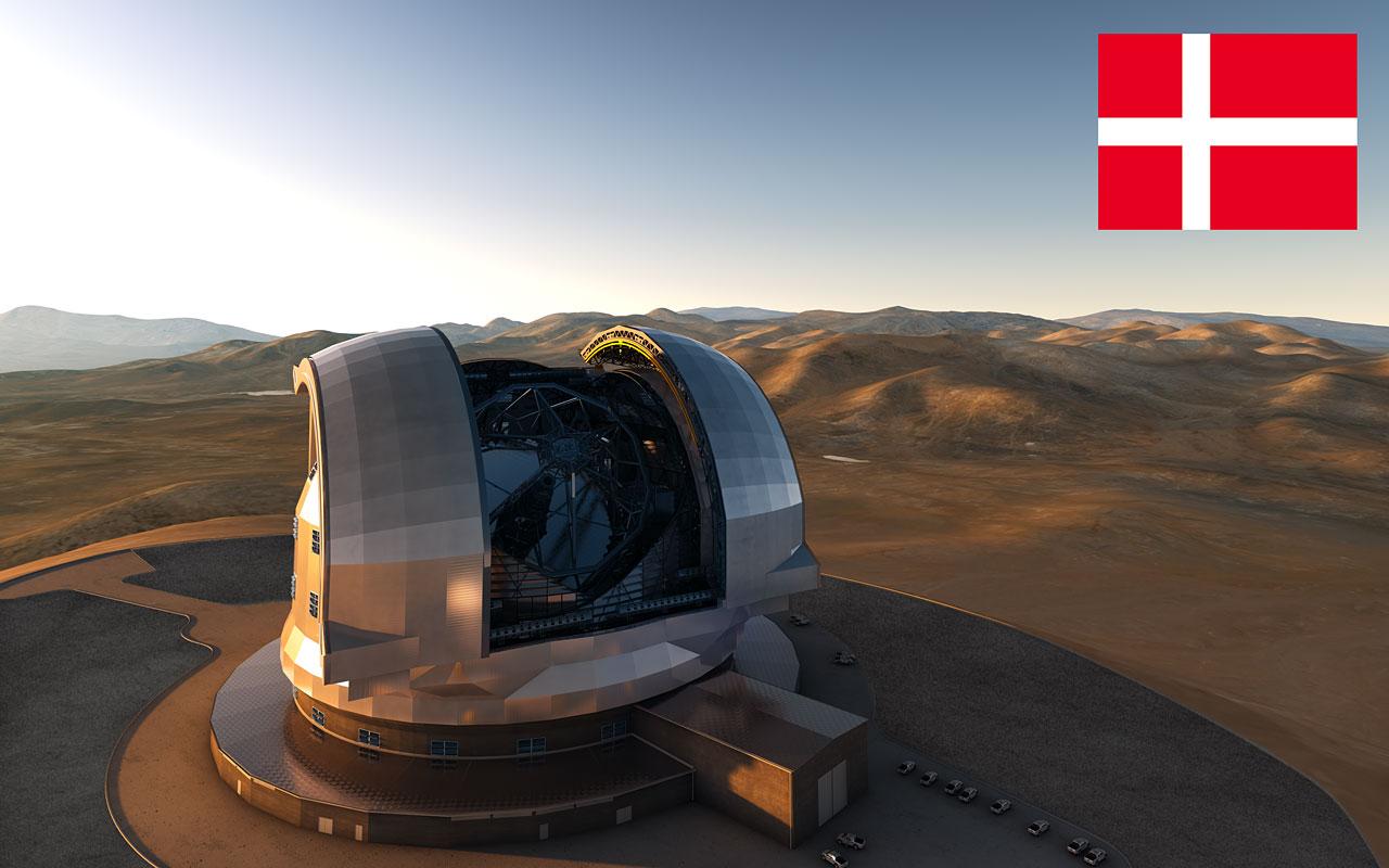 Denmark Confirms Participation in E-ELT