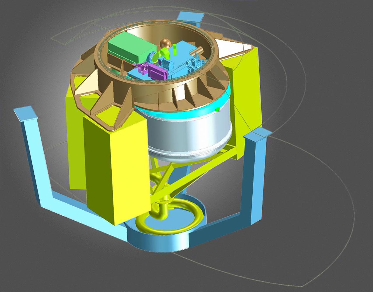 Desenho conceitual inicial do instrumento ERIS