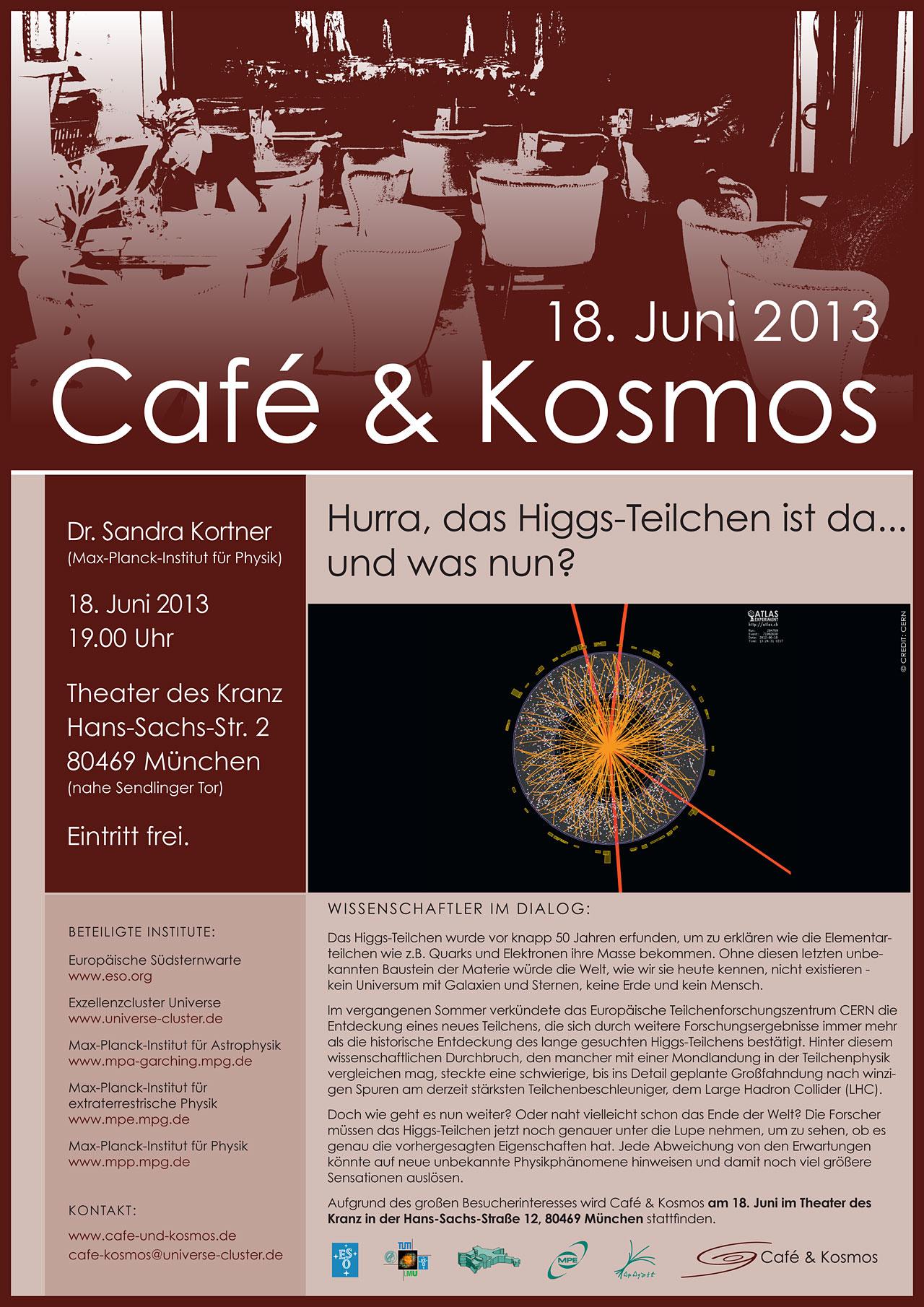 Poster zu Café & Kosmos am 18. Juni 2013