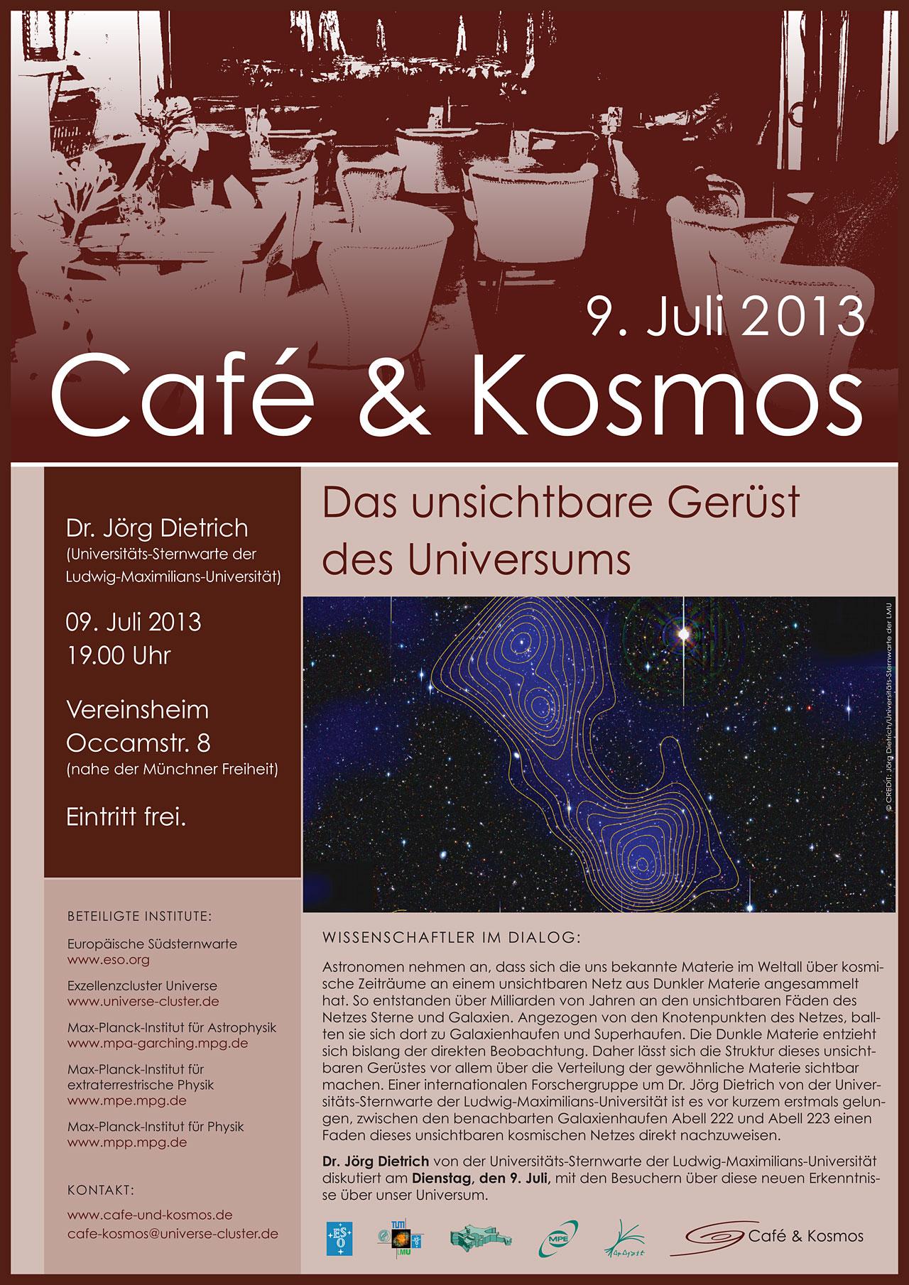 Café & Kosmos 9 July 2013