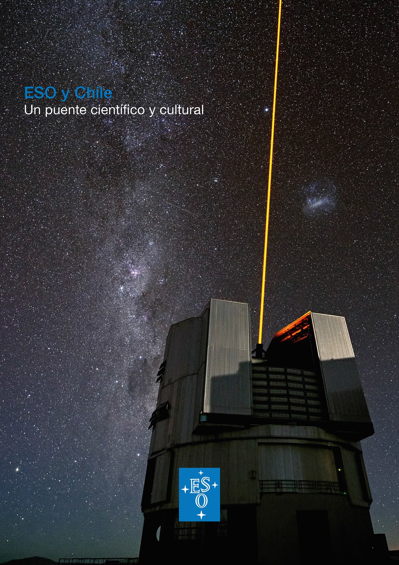 Cover of brochure ESO & Chile in Spanish