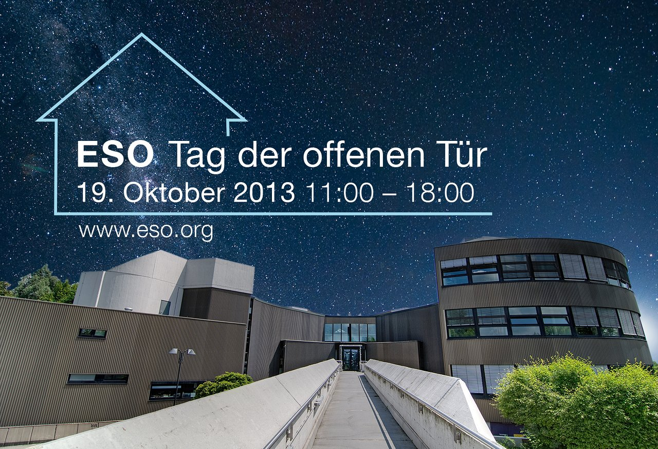 The ESO Open House Day 2013 (in German)