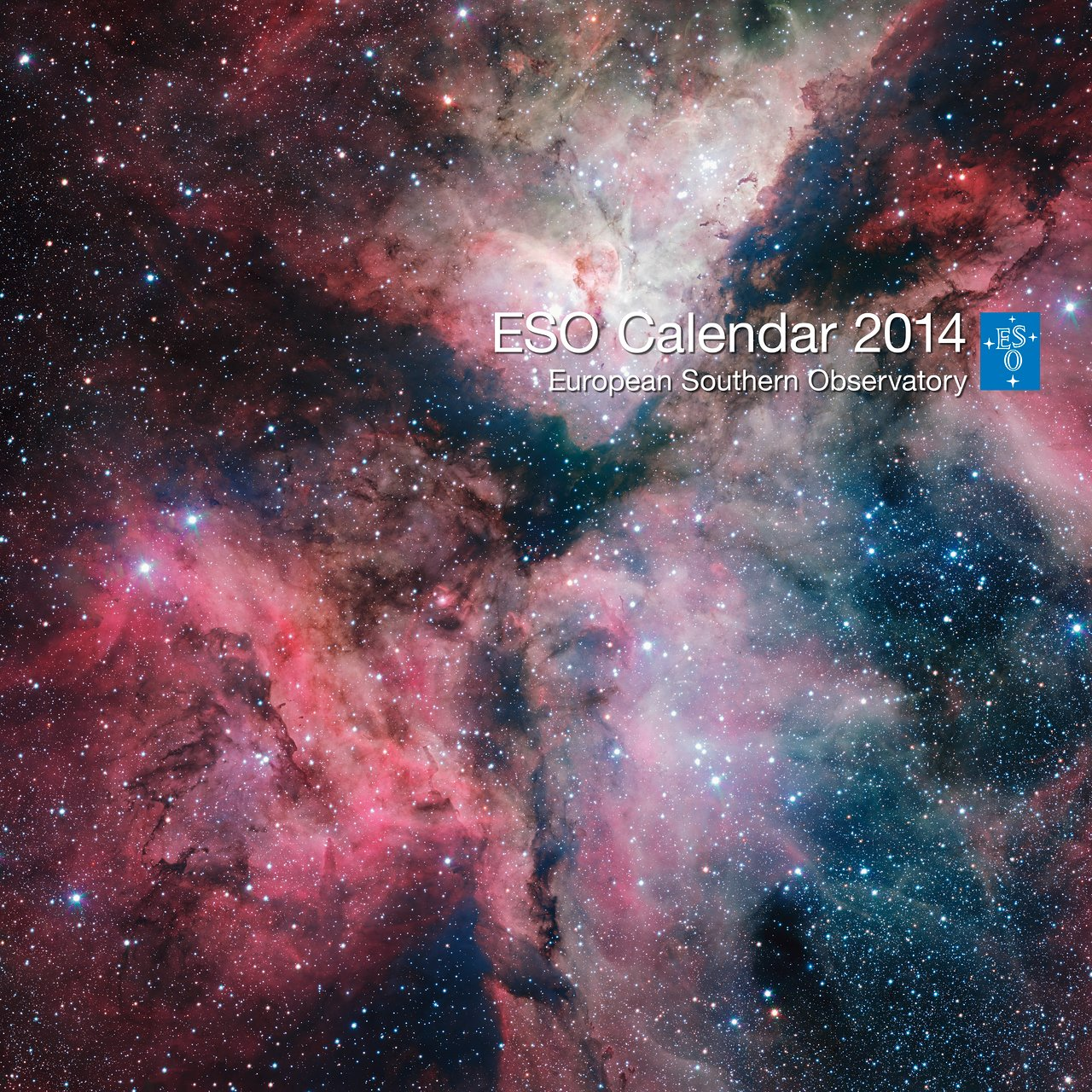 The cover of the 2014 ESO Calendar