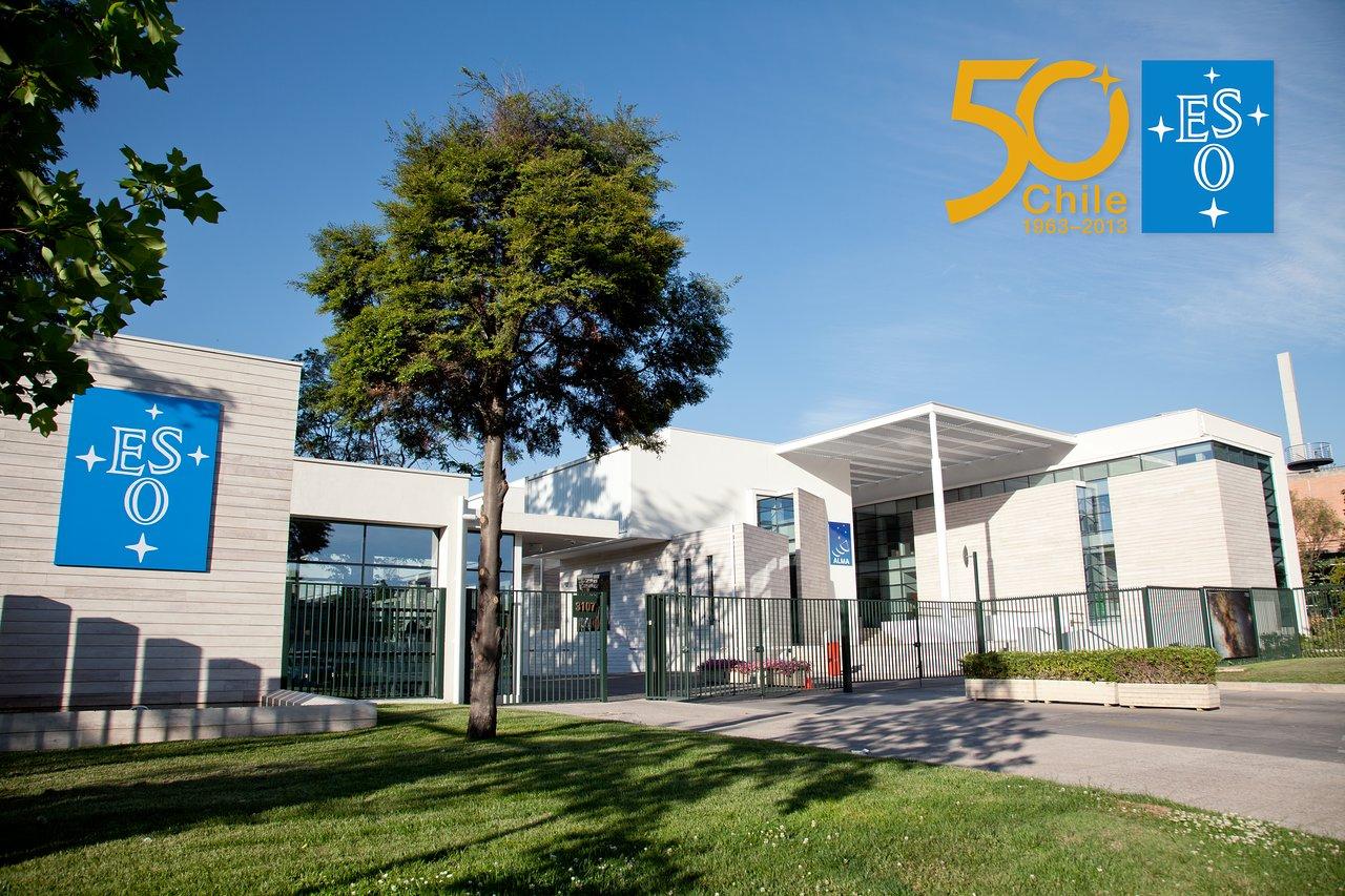 As instalações do ESO no Chile