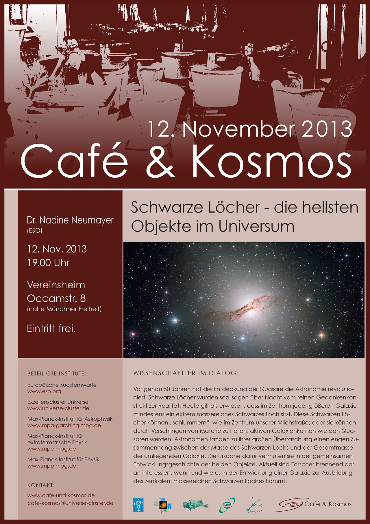 Café & Kosmos 12 November 2013