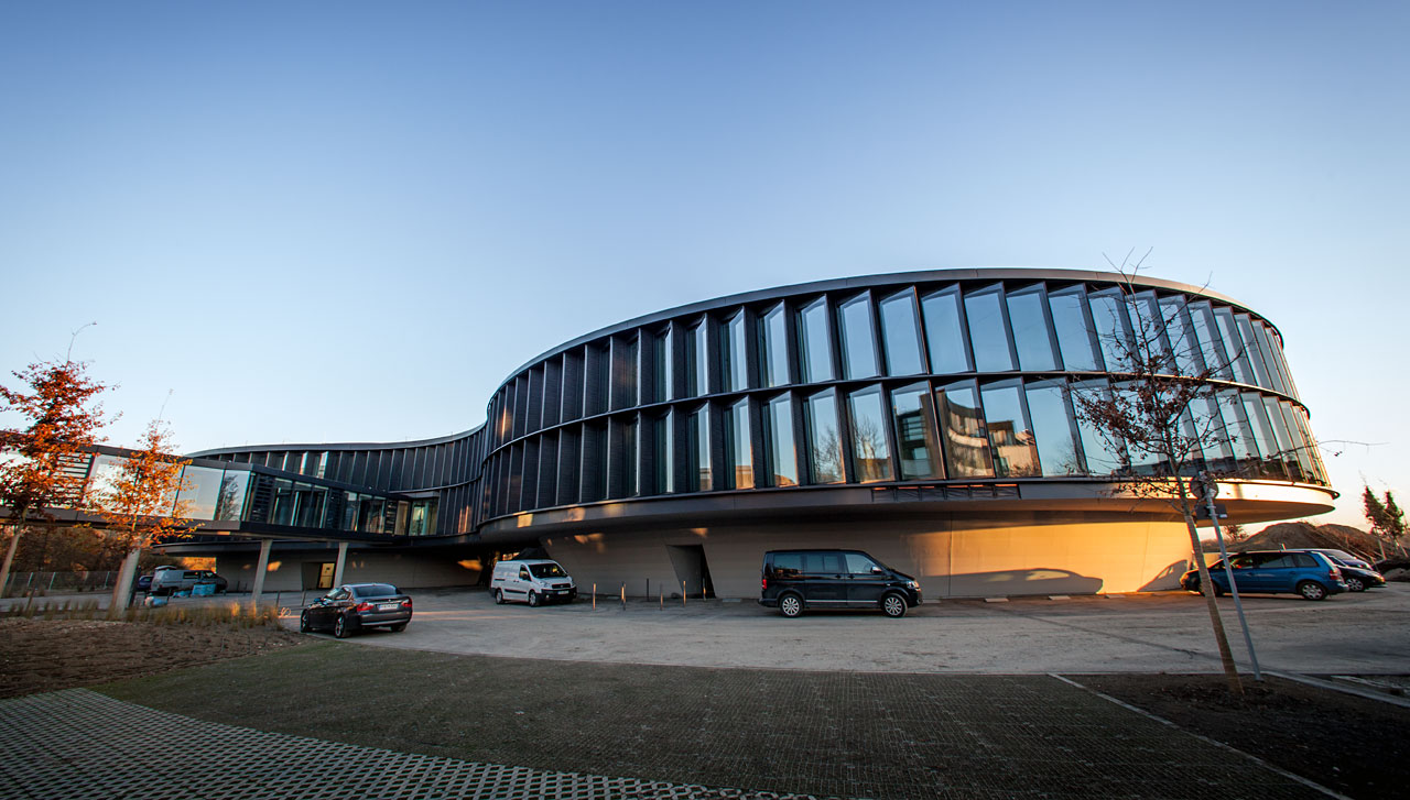 A nova extensão da Sede do ESO