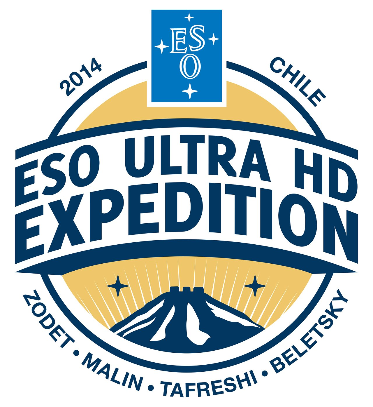 ESO Ultra HD Expedition Logo