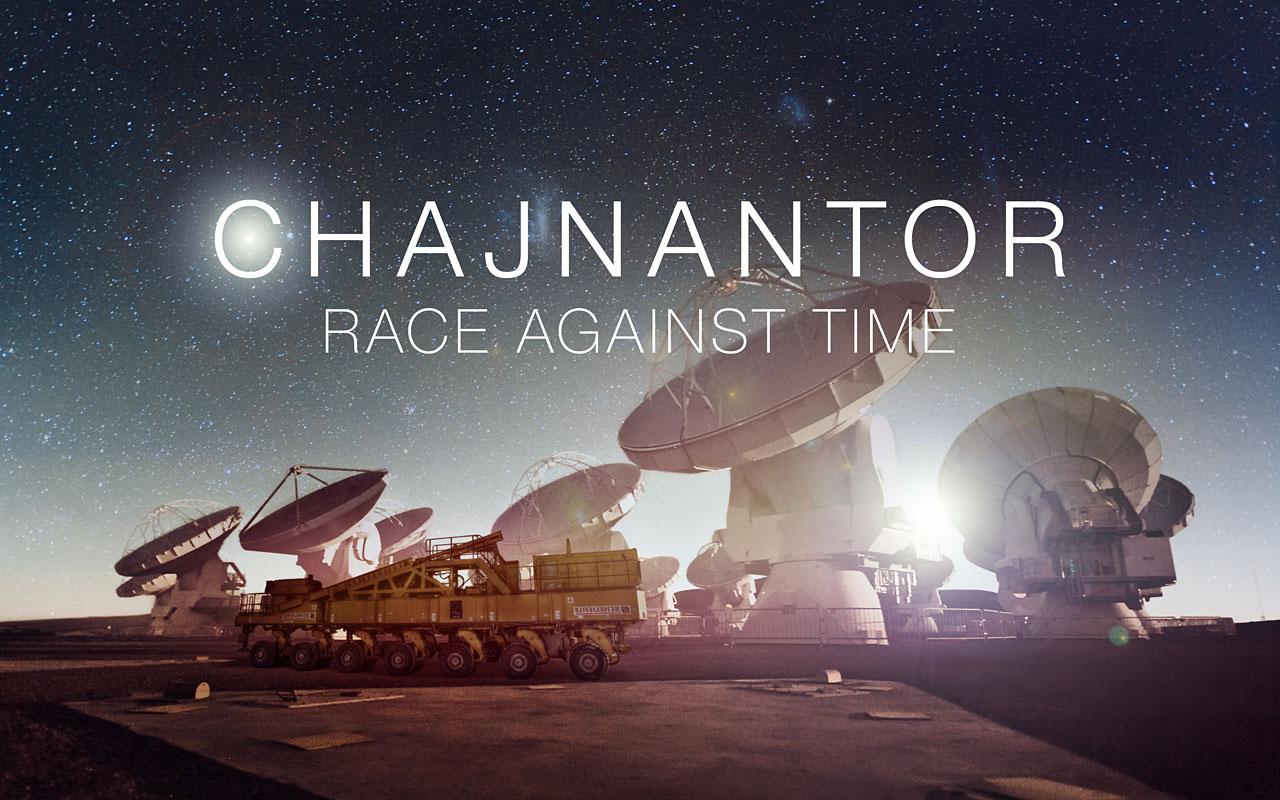 "Startbildschirm von ""Chajnantor: Race Against Time"