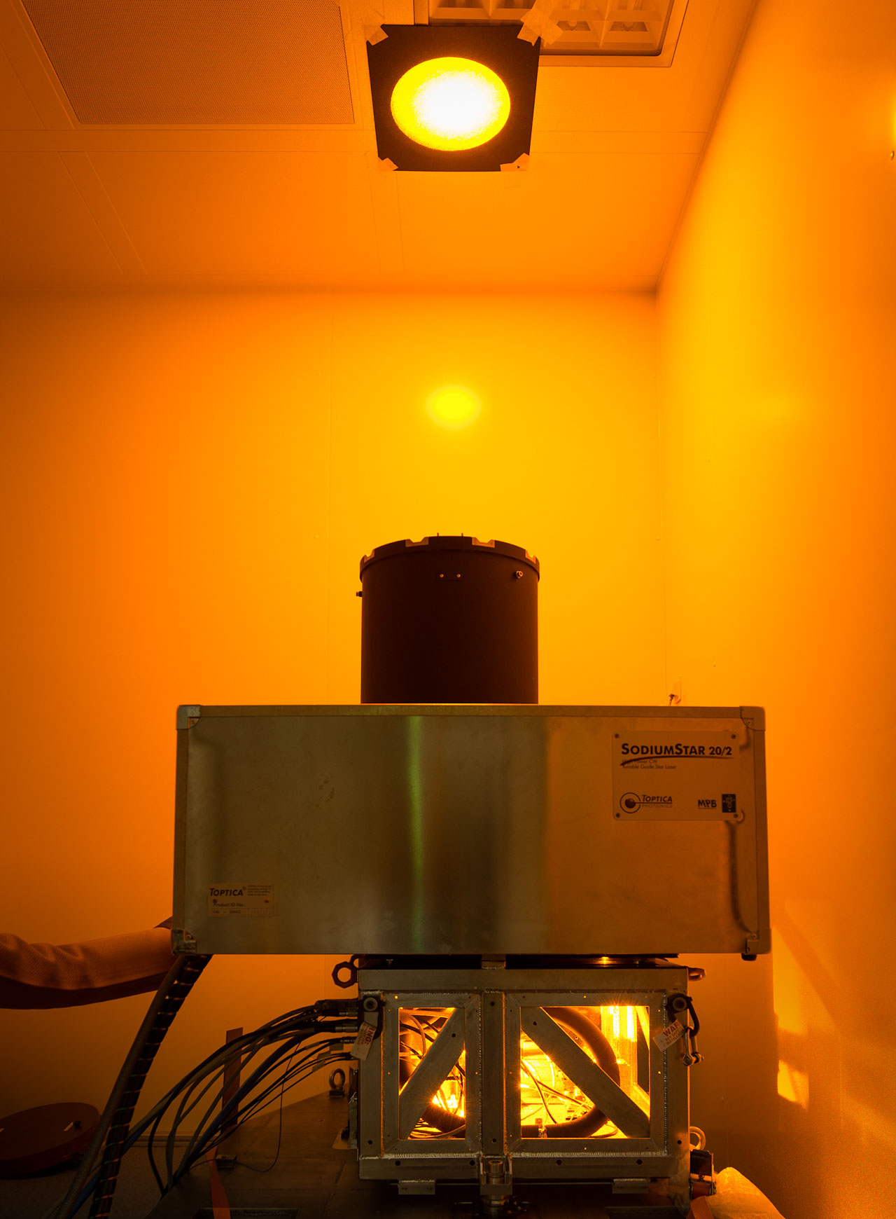 The first 22-watt sodium laser of the Adaptive Optics Facility