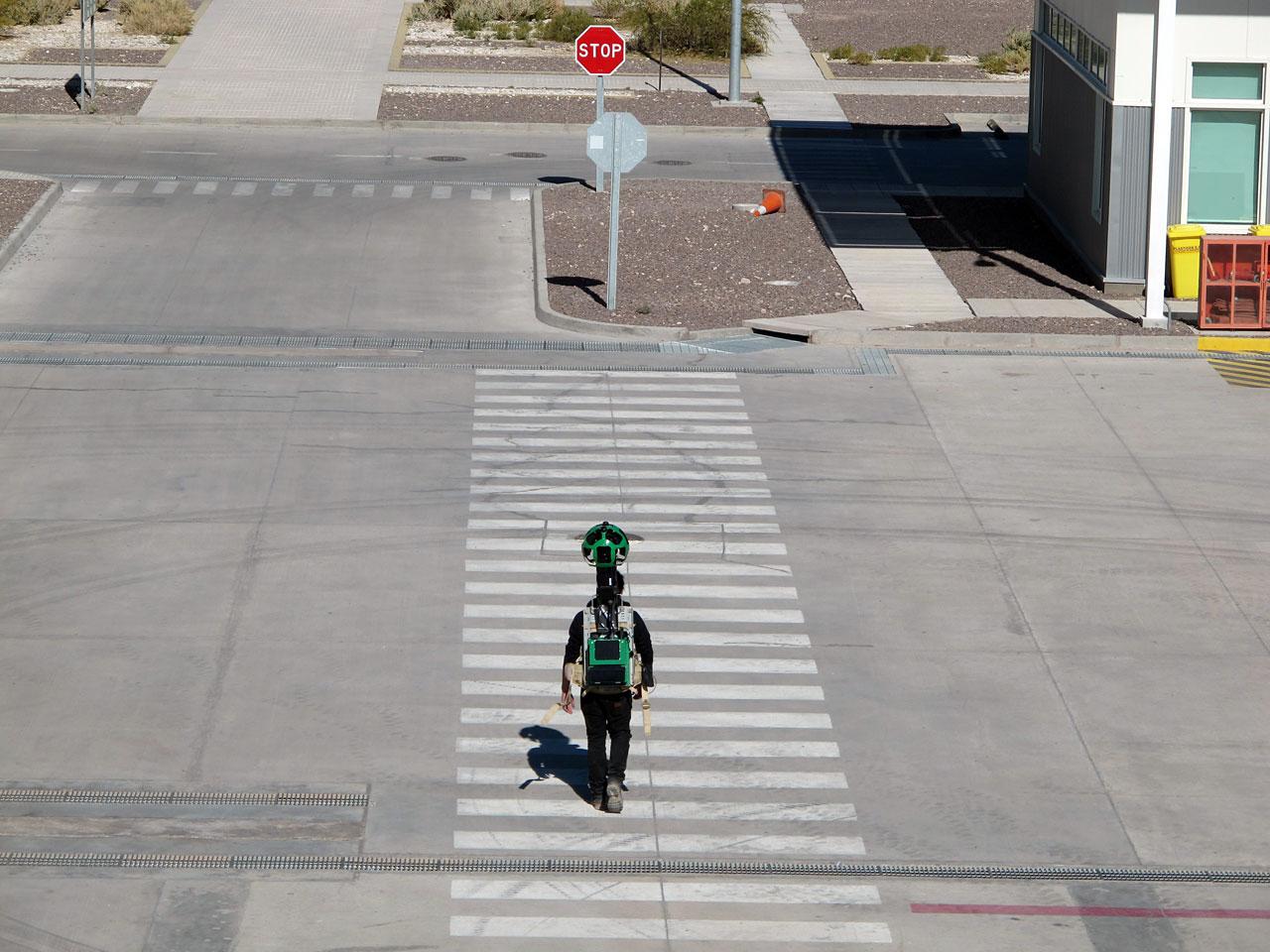Google Street View at ALMA OSF