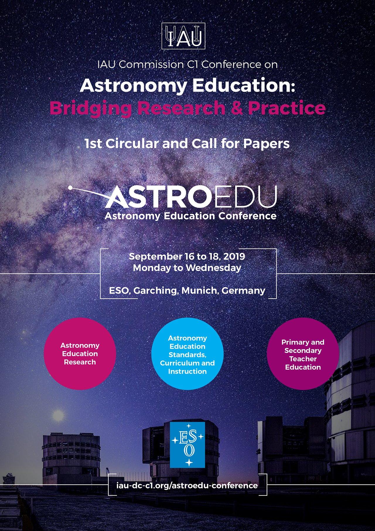 IAU Astronomy Education Conference comes to ESO Supernova | ESO