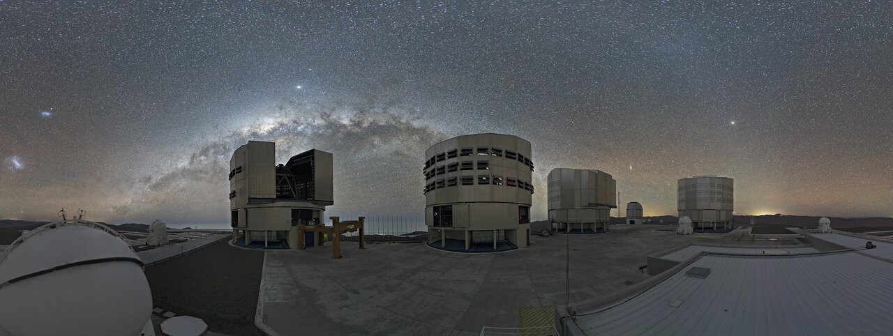 Science operations restarted at Paranal following pause due to the pandemic