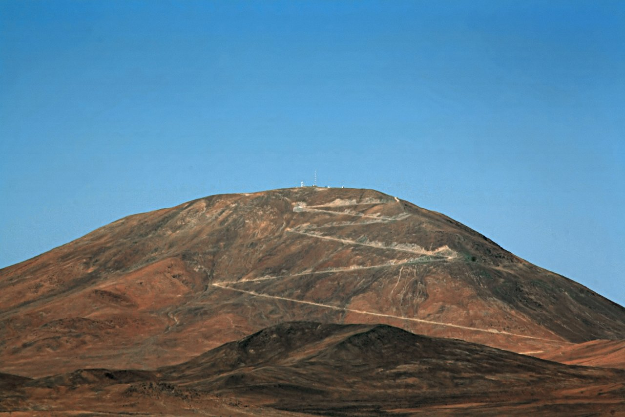 View of Cerro Armazones from Paranal