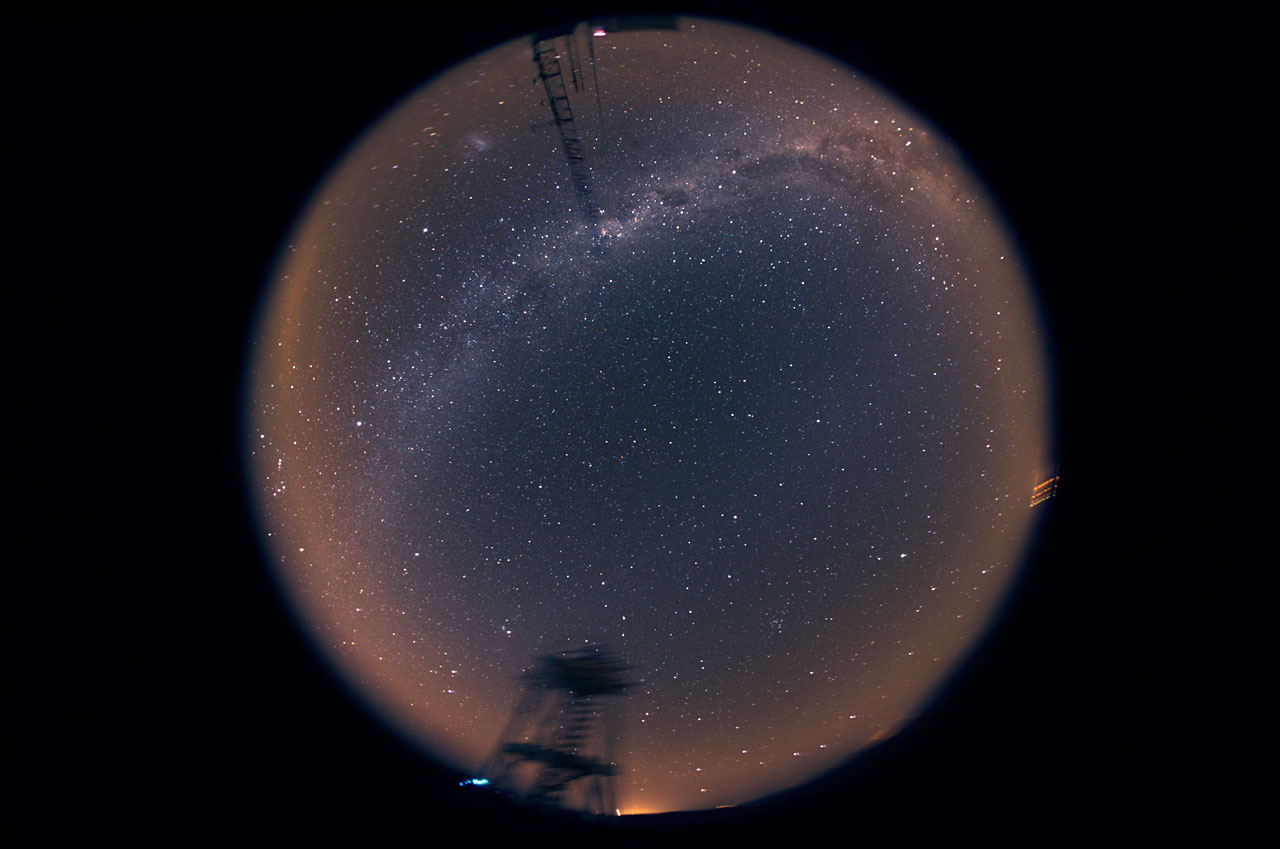 360° night sky over Cerro Armazones