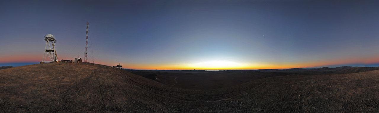 Twilight at Cerro Armazones