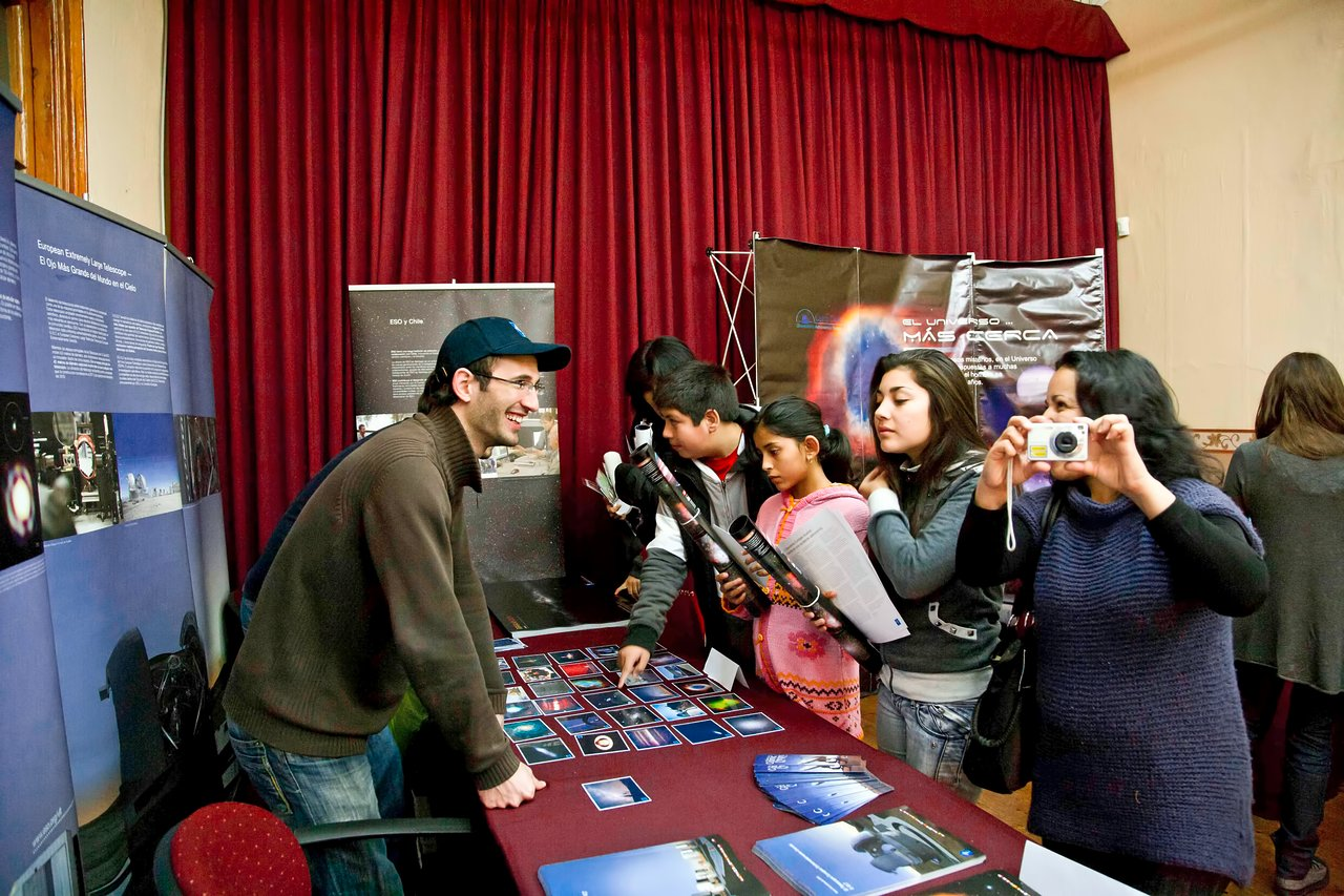 ESO Stand at the Astroday 2011