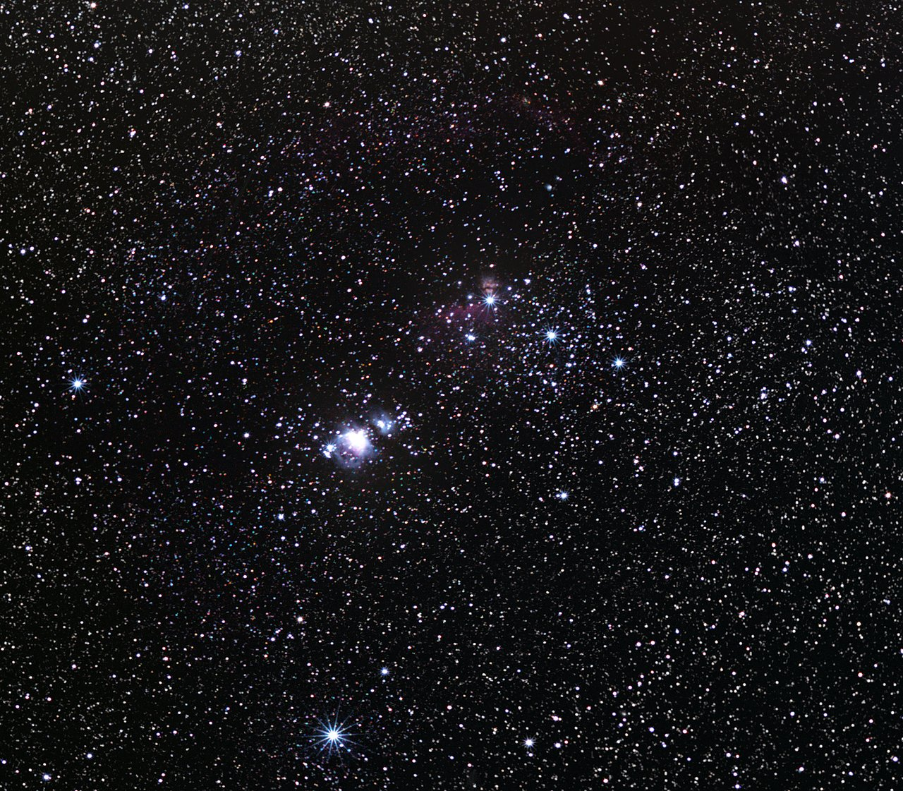 The Orion Nebula — the Jewel in the Sword