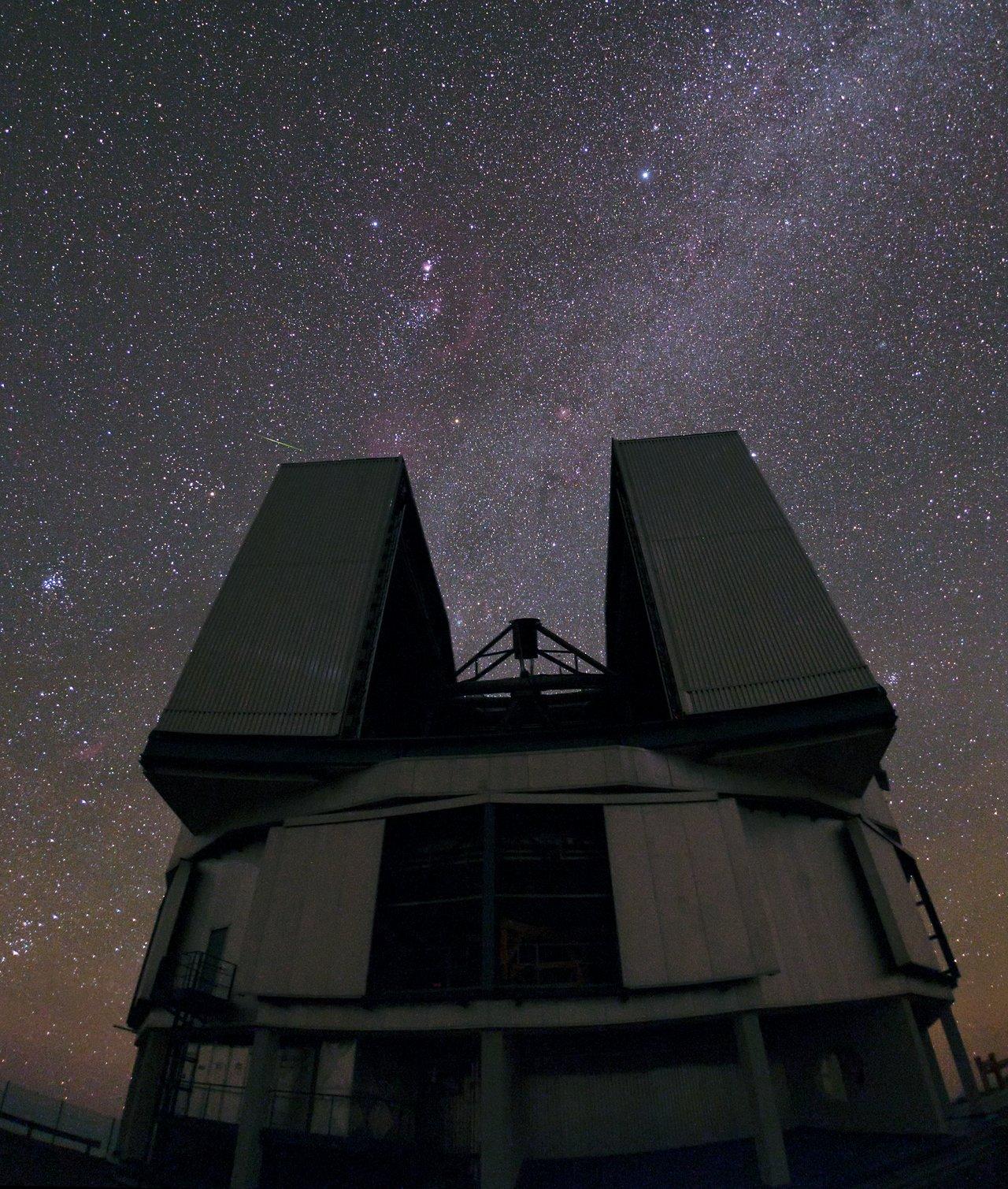 Off the shoulder of Orion
