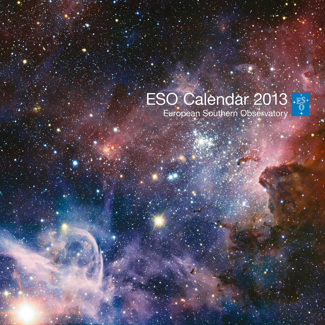 Titelblatt des ESO-Kalenders 2013