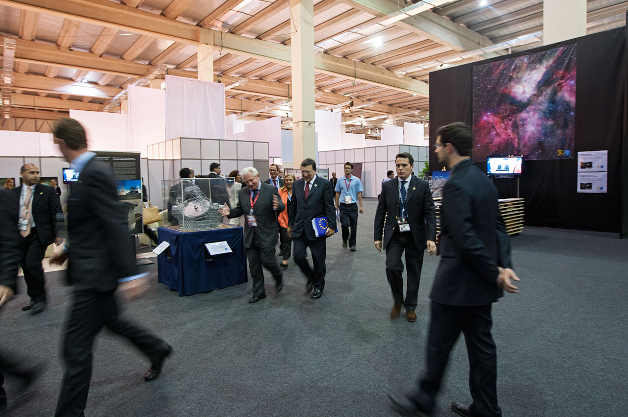 ESO's exhibition during CELAC-EU summit in Chile