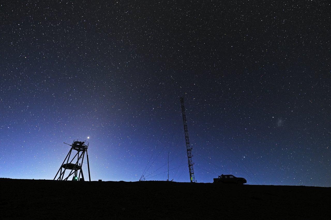 Cerro Armazones at dawn