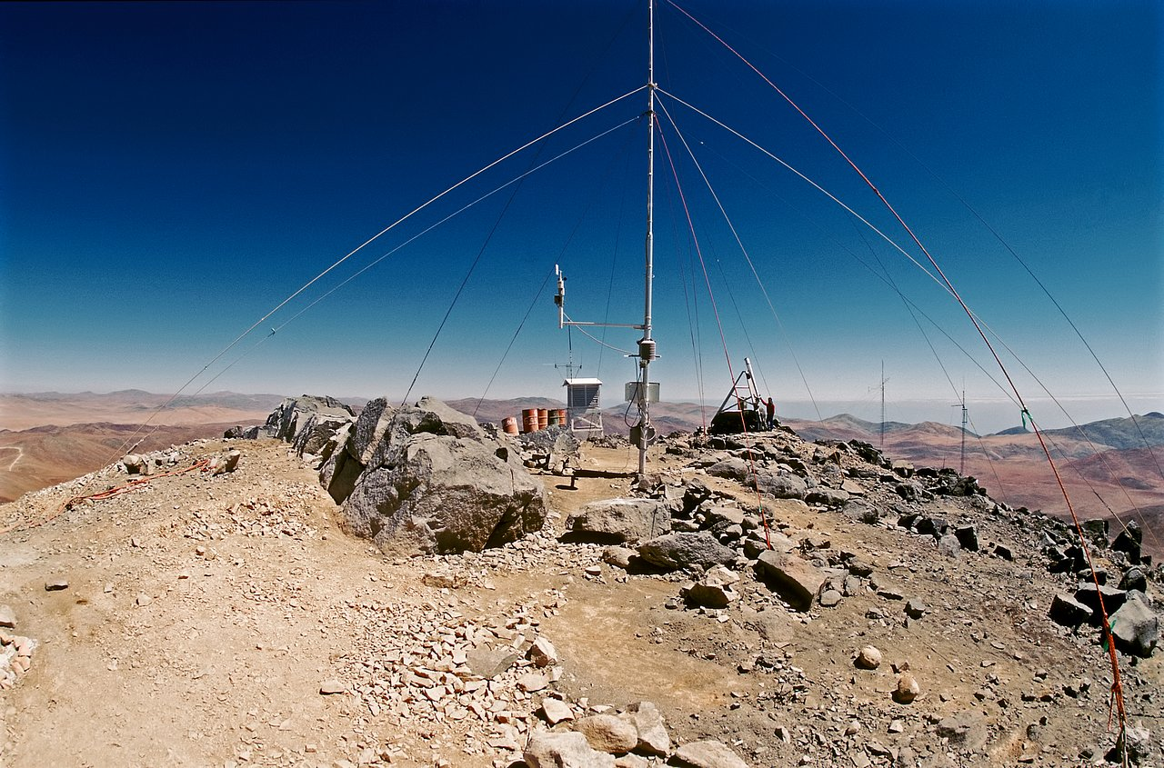 Paranal in 1987