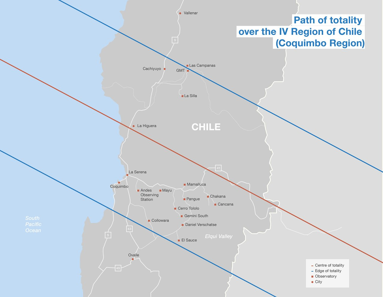 Total solar eclipse path in Chile | ESO Australia on turkmenistan in map, czech republic in map, antarctica in map, saudi arabia in map, central america in map, bahrain in map, brunei in map, togo in map, cook islands in map, mauritania in map, buenos aires in map, macedonia in map, andorra in map, south sudan in map, uzbekistan in map, luxembourg in map, saint lucia in map, sierra nevada in map, djibouti in map, jordan in map,
