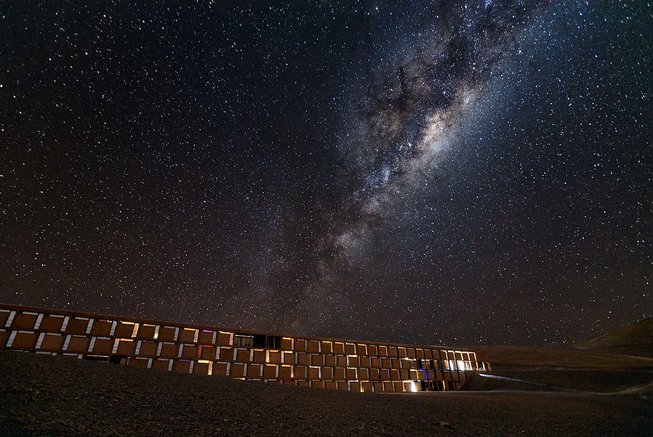 Milky Way over La Residencia