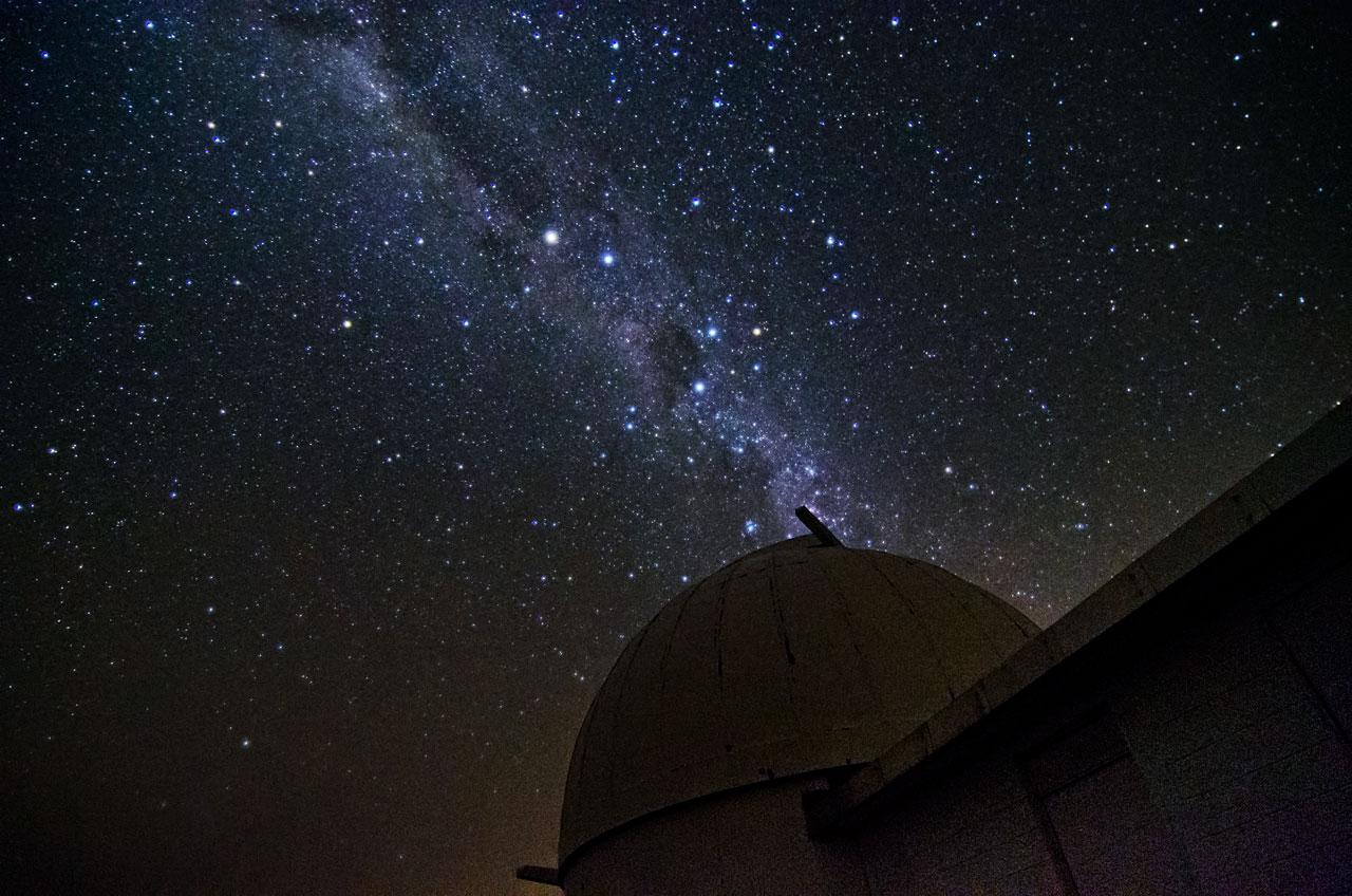 Milky Way at La Silla