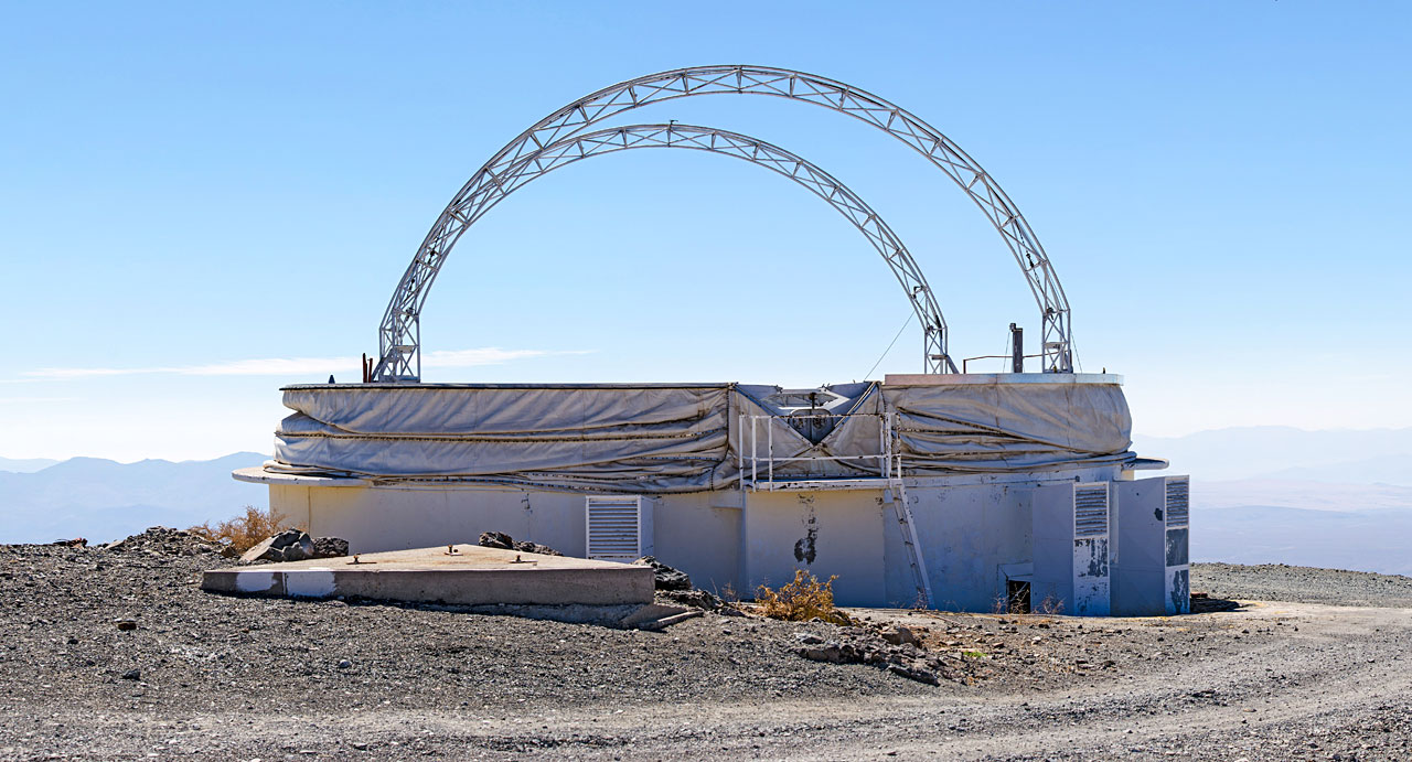 Panorama of the old test dome