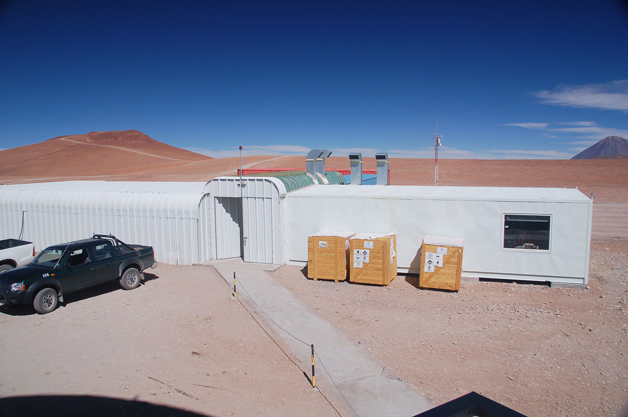 APEX control building on Chajnantor
