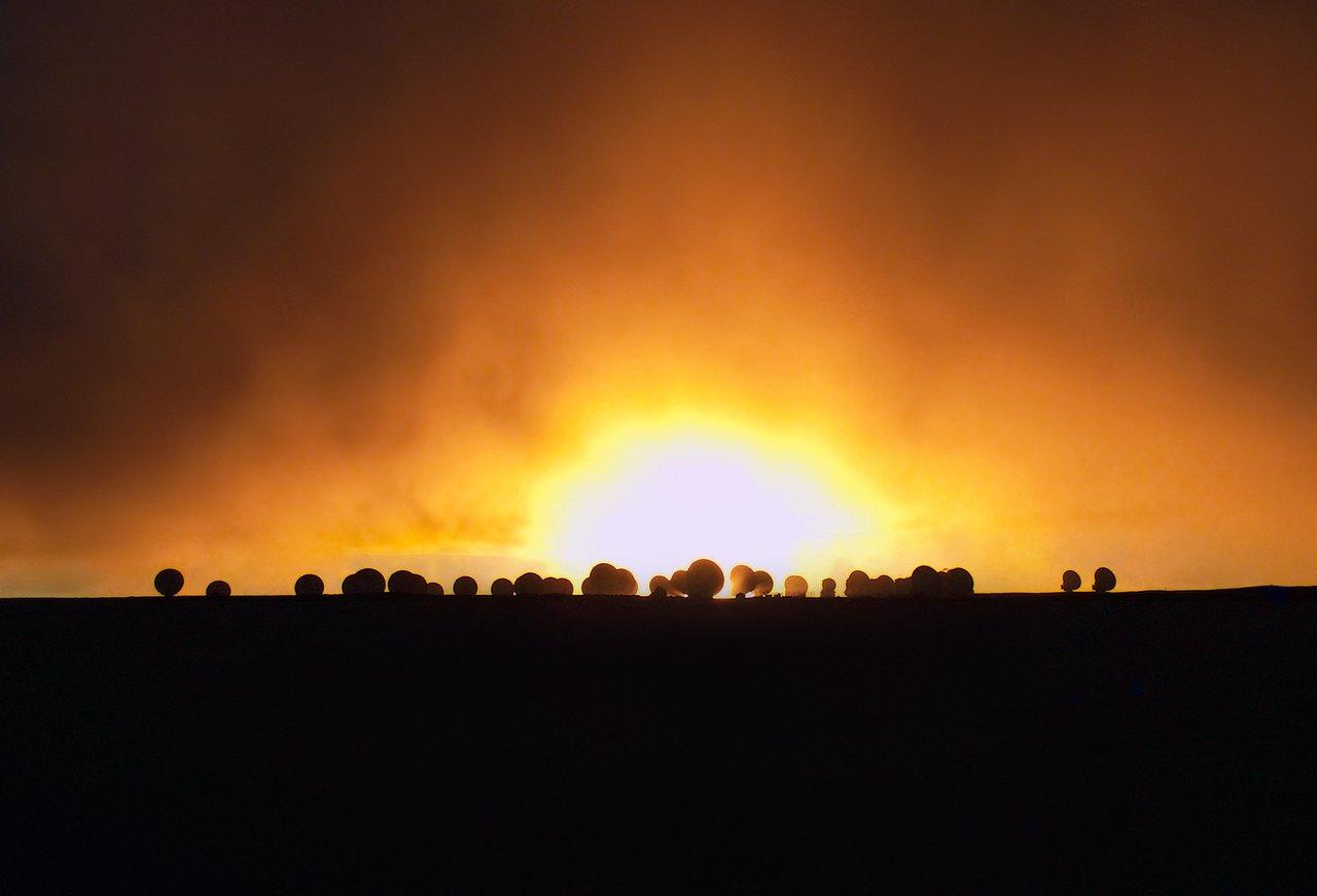Fiery scene at ALMA