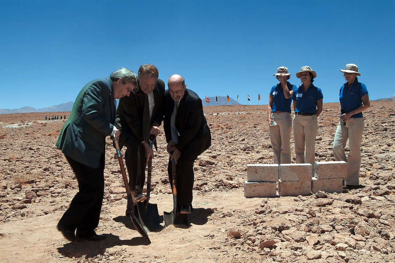 Breaking ground for ALMA
