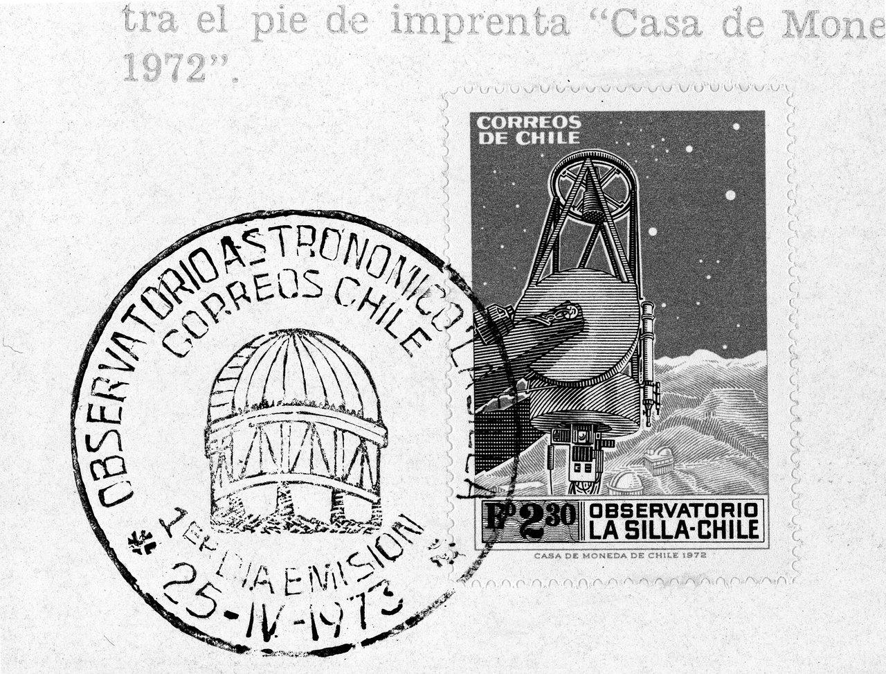 ESO Chilean post stamp