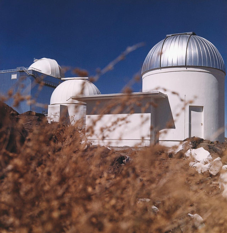 Small telescopes of La Silla