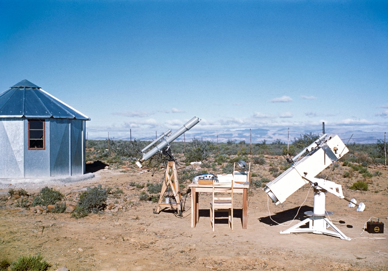 Site testing station in South Africa