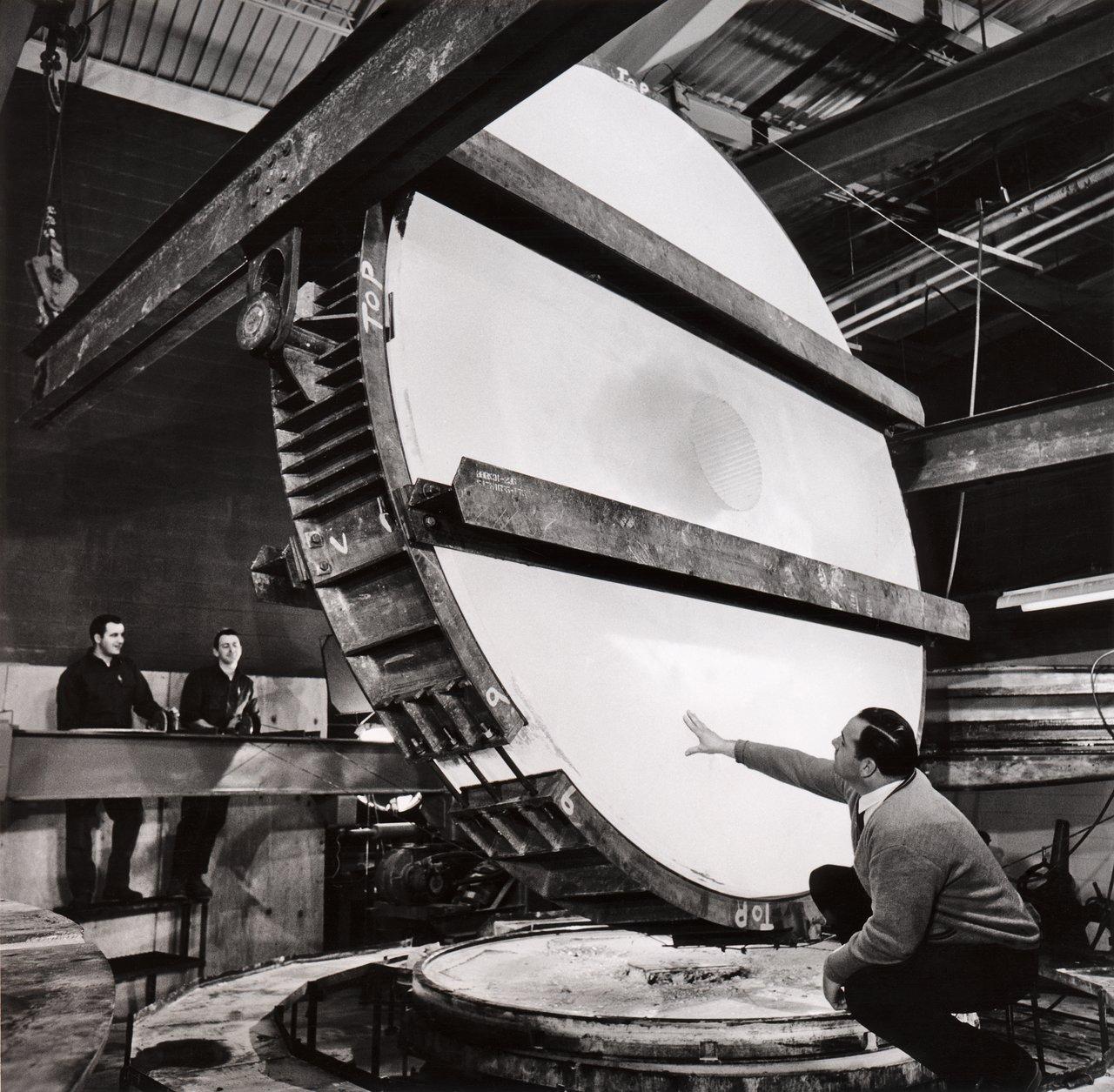 The ESO 3.6-metre telescope main mirror
