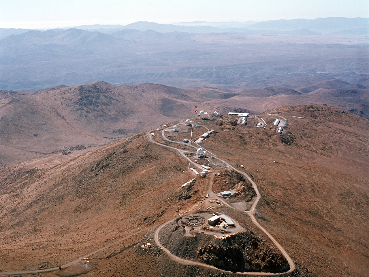 Aerial View of the La Silla Observatory