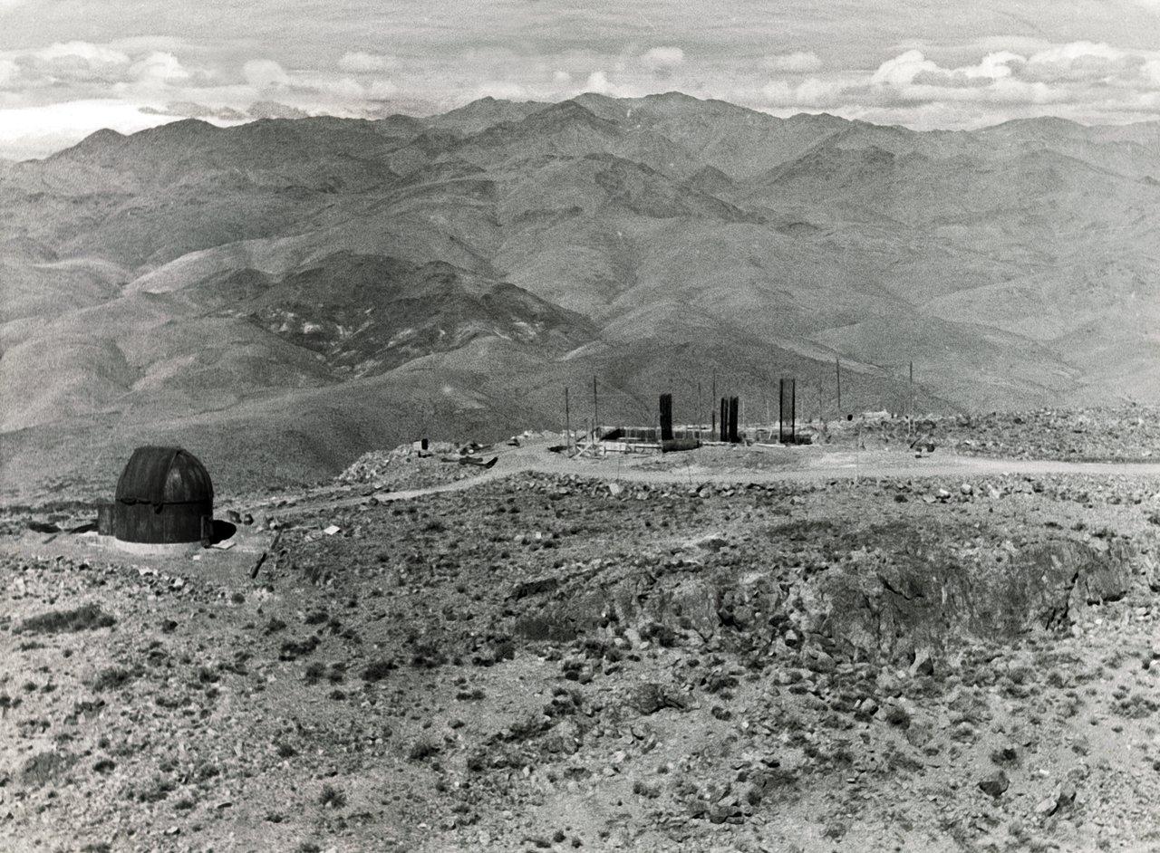 ESO 1.52-metre telescope foundations